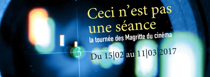 « Ceci n'est pas une séance, la tournée des Magritte du cinéma »