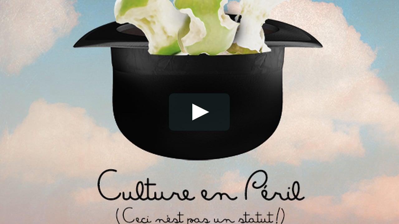 Culture en péril (Ceci n'est pas un statut!)
