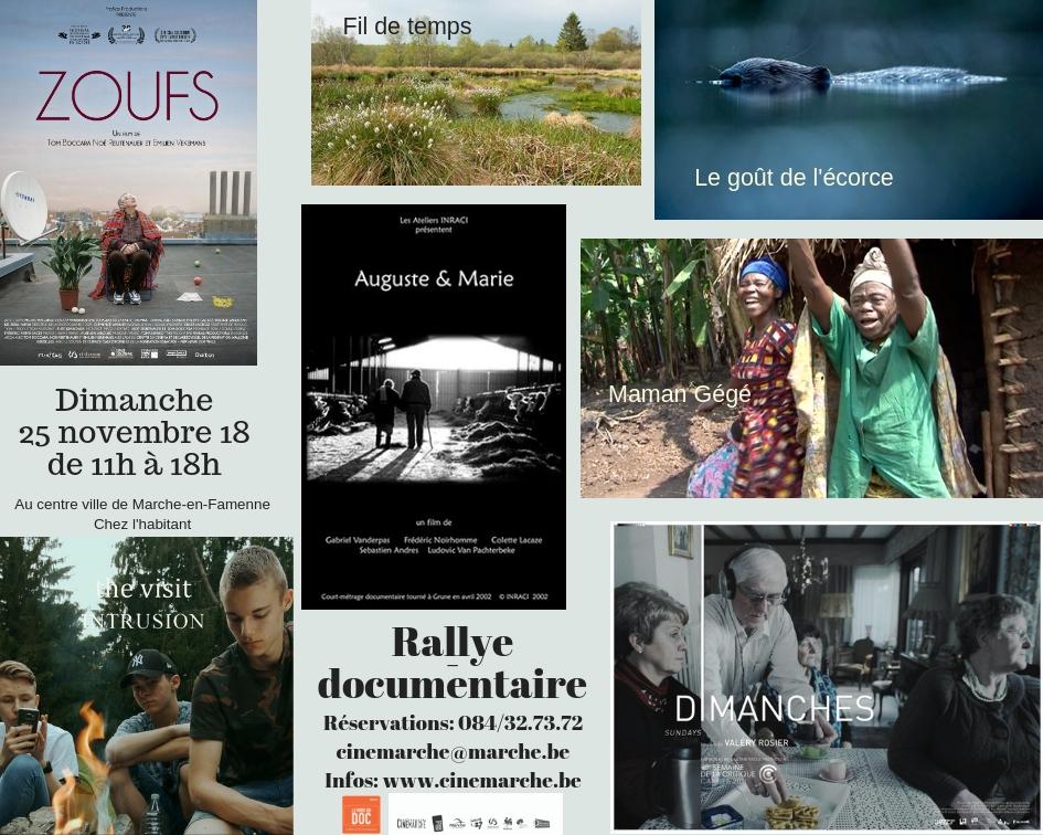 Rallye-documentaire 2018