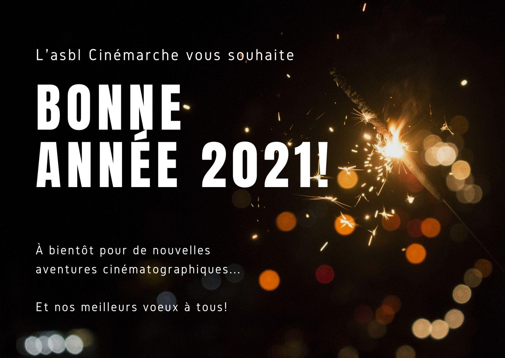 Bonne année 2021!