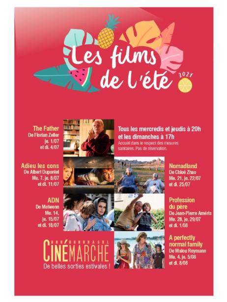 Les films de l'été!